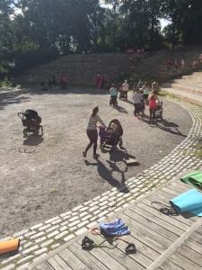 Mammaträningen Rålambshovsparken